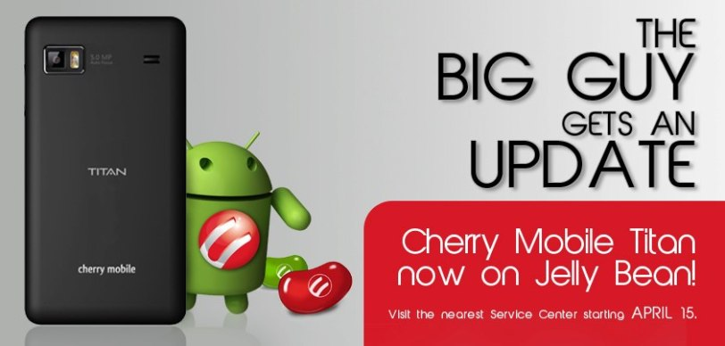 The Cherry Mobile W900 Titan Gets an Update